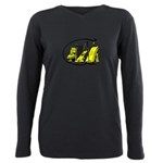 Getting engaged... gay Women's Long Sleeve Dark T-