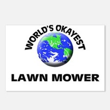 World's Okayest Lawn Mowe Postcards (Package of 8)
