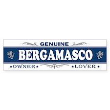 BERGAMASCO Bumper Bumper Sticker