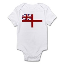 royal navy flag oblong Body Suit