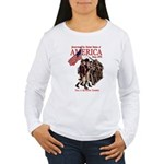 Defending America Women's Long Sleeve T-Shirt