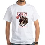 Defending America White T-Shirt