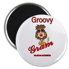 GROOVY GRAM Magnet