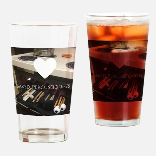 Unique Drumline Drinking Glass