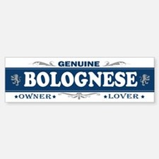 BOLOGNESE Bumper Car Car Sticker