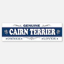 CAIRN TERRIER Bumper Bumper Bumper Sticker