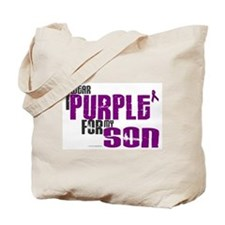 I Wear Purple For My Son 6 (PC) Tote Bag