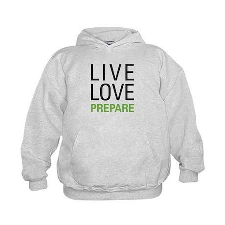 Live Love Prepare Kids Hoodie