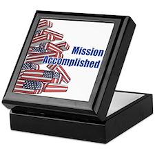 Mission Accomplished Keepsake Box