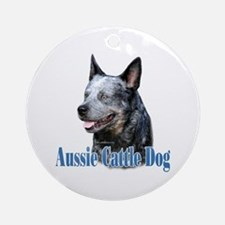 ACD(blue)Name Ornament (Round)