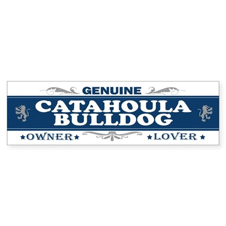 CATAHOULA BULLDOG Bumper Sticker
