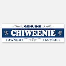 CHIWEENIE Bumper Bumper Bumper Sticker