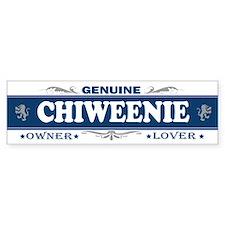 CHIWEENIE Bumper Bumper Sticker