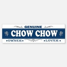 CHOW CHOW Bumper Bumper Bumper Sticker