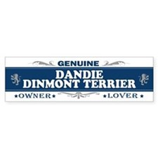 DANDIE DINMONT TERRIER Bumper Bumper Sticker