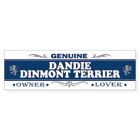 DANDIE DINMONT TERRIER Bumper Sticker