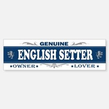 ENGLISH SETTER Bumper Bumper Bumper Sticker