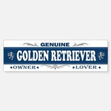GOLDEN RETRIEVER Bumper Bumper Bumper Sticker