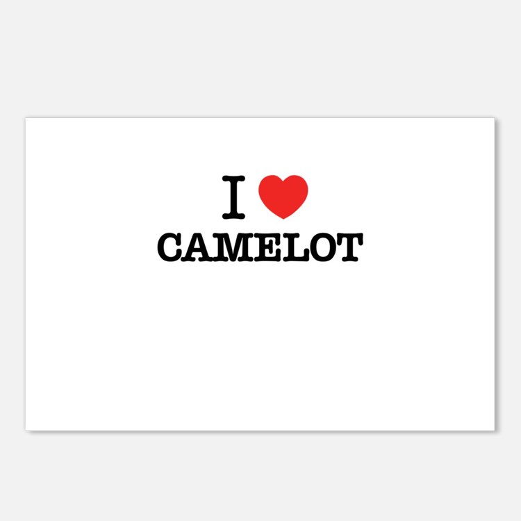 I Love CAMELOT Postcards (Package of 8)