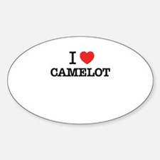 I Love CAMELOT Decal