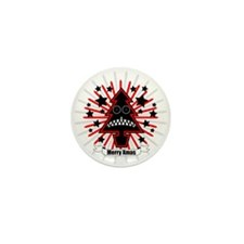 Killer Xmas Tree Mini Button