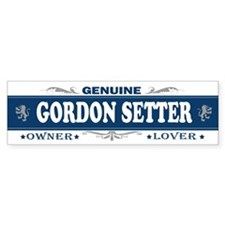 GORDON SETTER Bumper Bumper Sticker