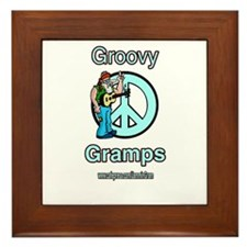 GROOVY GRAMPS Framed Tile