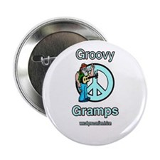 """GROOVY GRAMPS 2.25"""" Button"""