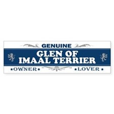 GLEN OF IMAAL TERRIER Bumper Bumper Sticker