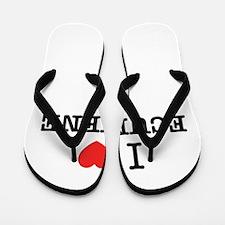 I Love EDWARDS Flip Flops