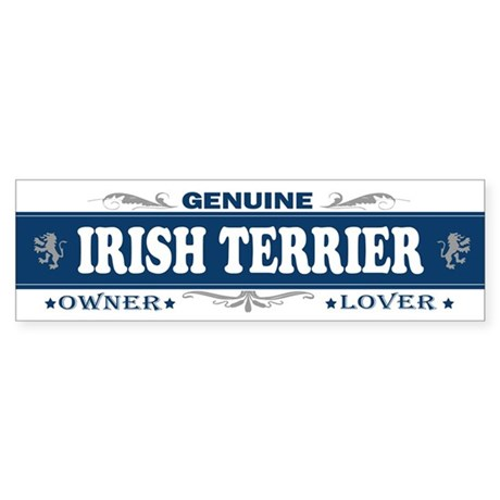 IRISH TERRIER Bumper Sticker