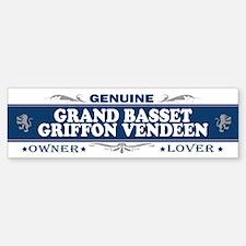 GRAND BASSET GRIFFON VENDEEN Bumper Bumper Bumper Sticker