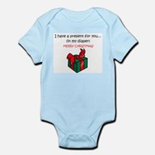 PRESENT IN MY DIAPER Infant Bodysuit