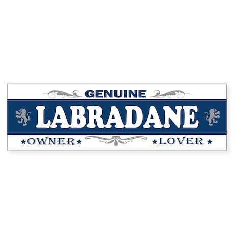 LABRADANE Bumper Sticker