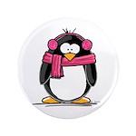 Pink Earmuff Penguin 3.5