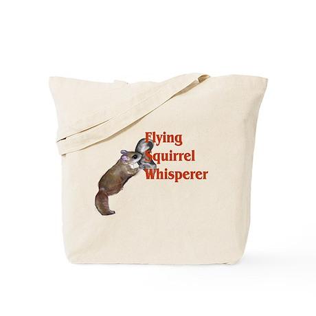 Flying Squirrel Whisperer Tote Bag