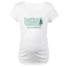 Save the Manatees Christmas Tree Shirt
