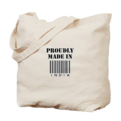 Proudly made in India Tote Bag