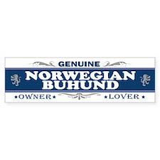 NORWEGIAN BUHUND Bumper Bumper Sticker
