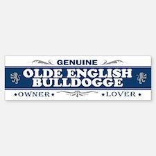 OLDE ENGLISH BULLDOGGE Bumper Bumper Bumper Sticker