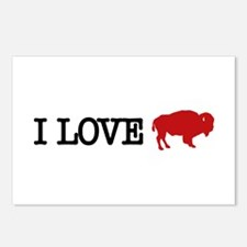 I LOVE BUFFALO Postcards (Package of 8)