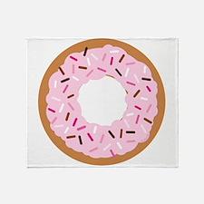 Pink Sprinkles! Throw Blanket