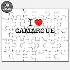 I Love CAMARGUE Puzzle