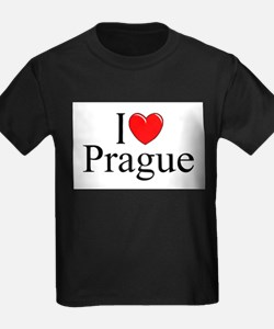 """I Love Prague"" T-Shirt"