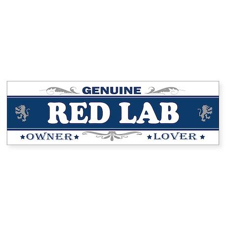 RED LAB Bumper Sticker
