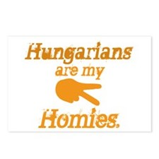 Hungarians are my Homies Postcards (Package of 8)