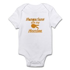 Hungarians are my Homies Infant Bodysuit
