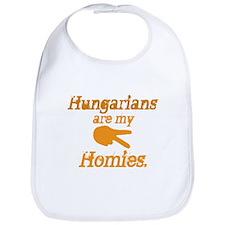Hungarians are my Homies Bib