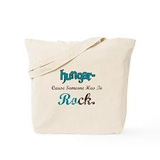 Hungar- Rock Tote Bag