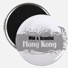 Wild Hong Kong Magnet